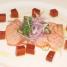 Salmon Tataki With Sweet Ponzu Sauce