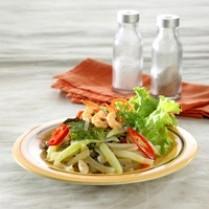 Resep Tumis Labu Siam Pedas Seafood