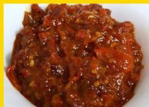resep sambal seruit
