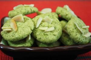 Resep Kue Kering Rasa Teh  Hijau Kacang Almond