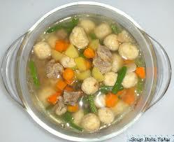 Resep Sup-Bola Singkong