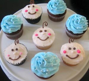 resep blue cupcakes