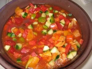 resep gazpacho (sup tomat)