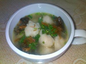 Sup Baso Ikan Mujair