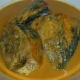 Tumeh Ungket Sure (Tumis Ikan Tongkol) Aceh